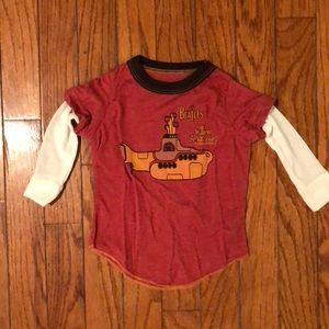 Infant/toddler Beatles long sleeve shirt